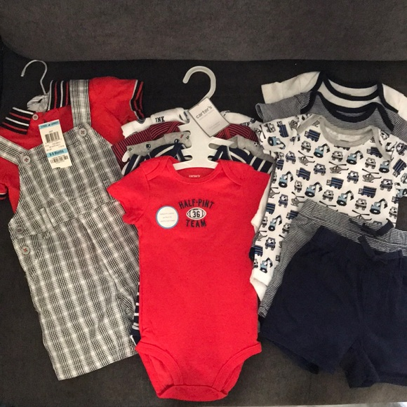 319f2ac89 Carter's One Pieces | Brand New Baby Clothes Lot 612m Carters ...
